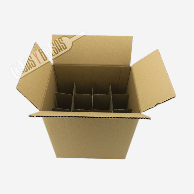 Caja para 12 Botellas